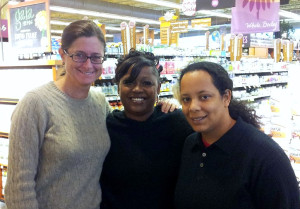 Me, Gayle and Jordan from Thistle Farms