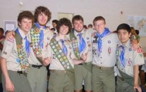 My Son Matt's Eagle Scout Ceremony