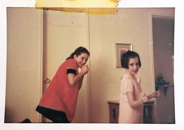 My aunt Mimi and I dancing 1967