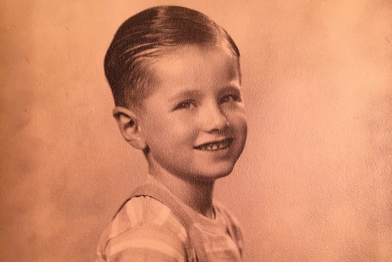 My dad at age 7